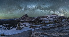Cathedral Peak Under the Milky Way... (markarlilly) Tags: california zeiss nationalpark yosemite backcountry yosemitenationalpark milkyway cathedrallake uppercathedrallake 21mmzeiss astrotrac distagon2128zf