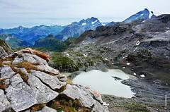 die Alpen (welenna) Tags: alpen alps switzerland summer snow schnee see schwitzerland sky swiss berge berneroberland blue mountains mountain view landscape lake relief himmel hiking