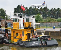SWS Suffolk (6) @ KGV Lock 27-06-16 (AJBC_1) Tags: london tug ©ajc dlrblog england unitedkingdom uk ship boat vessel northwoolwich eastlondon newham nikond3200 tugboat londonboroughofnewham royaldocks kgvlock kinggeorgevlock londonsroyaldocks docklands marineengineering swalshsonsltd swsbreda pushertug swssuffolk ajbc1