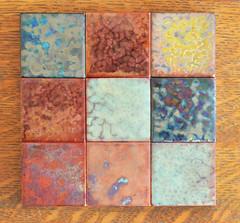 Pilkington lustre tiles (robmcrorie) Tags: century ceramic crafts arts glaze tiles stockport 20th 19th lustre pilkington
