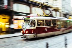 Prague Trolley (hduongterp) Tags: republic czech prague trolley