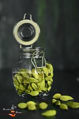 Green Cardamom (Rimli D) Tags: food green photography spices darkphotography cardamom indianspices foodphotography foodblogger foodstyling moodphotography