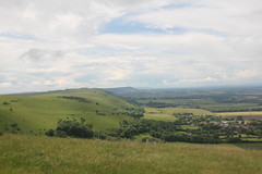 South Downs Way (Elizabethhy) Tags: uk summer countryside brighton hiking country devilsdyke ditchlingbeacon southdownsway canon550d