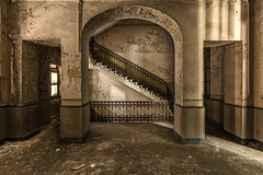 - S - (- Folow me on www.j0s0k.com -) Tags: urban color leave abandoned beautiful beauty stairs canon wonderful lost photography eos 50mm photo amazing flickr photographie place belgium belgique image pics decay colorfull gorgeous ghost great picture sigma wideangle forgotten disused lovely forsaken exploration derelict deserted marvelous magnificent decaying surrender splendid aside verlassen manicomio facebook explo batter laying urbex resignation urbaine wallonie abandonado geoffroy abbandonato verlaten lostplace 50d vergiven forlatt dilapidate 500px  oputn soquette instagram wallifornia j0s0k royalstairs j0s0kcom