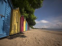Beach Huts (Pete Marsden) Tags: uk beach wales sand llanbedrog beachhuts lleynpeninsula petemarsden
