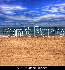 Uploaded to Stockimo (oohay!) Tags: new sea beach coast words horizon dont panic shore horizons stockimo brexit