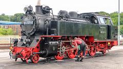 Schmalspurbahn Molli (Zarner01) Tags: digital 1932 canon eos is outdoor bahnhof 99 stm efs gleise lokomotive lok molli khlungsborn heiligendamm 18135 baddoberan 23210 bderbahn 900mm mecklenburgische salonwagen efs18135 canoneos750d