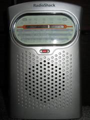 Hand Held Radio. (dccradio) Tags: music analog nc am dial northcarolina electronics speaker sw fm shortwave lumberton robesoncounty stereoled