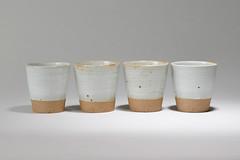 Tea-Bowl-white-brown-002 (cdkceramic) Tags: white cup ceramic tea bowl   cdkceramic