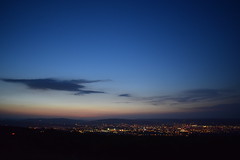 On top of the city (Tudor Lozba) Tags: city sunset sky clouds dusk cluj napoca