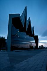 Dusk at Glasgow Riverside Museum (GlasgowPhotoMan) Tags: longexposure scotland riverclyde clyde dusk glasgow glasgowtransportmuseum glasgowmuseumoftransport bigstopper zahahadidarchitect leebigstopper glasgowriversidemuseum