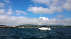 Port St Mary. (Chris Kilpatrick) Tags: chris sea seascape nature water june clouds landscape outdoor bluesky isleofman portstmary irishsea