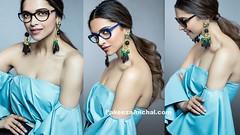 Deepika Padukone Photoshoot | Vogue Eyewear Blaze 2016 (shaf_prince) Tags: actressinbluedresses bollywooddesignerdresses celebritydresses deepikapadukone designerwear offshoulderdress straplessdresses sunglasses swarovskicrystals teenfashion vogueeyewear