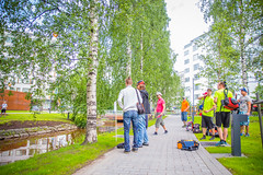 (Räbbänä) Tags: city summer urban sports canon outdoor frisbee oulu frisbeegolf kesä päivät canon70200l eos6d oulun canon6d canoneos6d oulunpäivät cityfrisbeegolftour cfgto16 cfgt16 cityfrisbeegolf