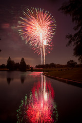 DSC_3996 (fellajr) Tags: family water night golf fun evening fireworks 4th july course hazzard deerpark 2016