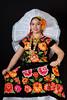 Istmeña (lfbc) Tags: roja istmo retrato portrait tehuantepec traje tradiciones oaxaca mexico cultura nikon d750 85mm flores flowers rosa naranja resplandor mitierra