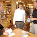 "Gary visiting with Athletic staff<a href=""http://farm8.static.flickr.com/7404/8713752663_0b750c2c35_o.jpg"" title=""High res"">∝</a>"