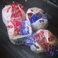 Panic buying pom-poms from the pound shop. Ofc. (*jon*) Tags: from shop panic pound pompoms buying ofc instagram
