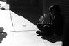 Between Light And Dark (Kat Northern Lights Man) Tags: light blackandwhite woman toronto ontario canada outside smokestack sillouette smoker cigarettesmoke canoneos650d canonefs18135mm katnlm