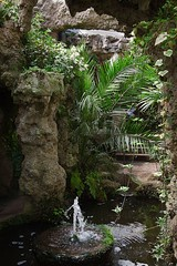 20130506-121517 (aderixon) Tags: monmouthshire caerwent walesuk placegarden architecturewaterfountain architecturegrotto architecturewaterpool natureplanttreepalm