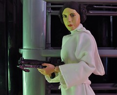 Leia decides (gibbspaulus) Tags: new hope one star doll princess action figure fisher 16 wars carrie sixth sideshow leia ssc organa uploaded:by=flickrmobile flickriosapp:filter=nofilter