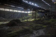 (even72) Tags: abandoned industry industrial factory hdr crepuscular even72