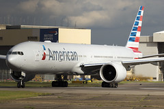 American Airlines Boeing 777-300 N720AN (LHR Local) Tags: london plane airplane flying heathrow aircraft aviation flight jet p spotting lhr heathrowairport lineup 6d planespotting canon6d
