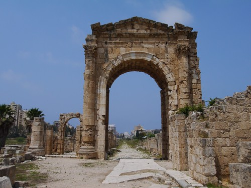 The Triumphal Arch,  Al Bass Archaeological Site, Tyre