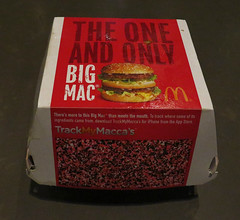 THE ONE AND ONLY BIG MAC (Newtown grafitti) Tags: sydney circularquay mcdonalds cbd