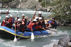 Kananaskis white water rafting