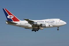 7O-YMN Yemenia 747SP on final at KCLE (GeorgeM757) Tags: airport aircraft landing boeing 747 clevelandhopkins cle 747sp alltypesoftransport 7oymn yemienia georgem757sphotostream