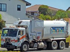 Garbage Truck (2) (Photo Nut 2011) Tags: california trash garbage junk sandiego waste refuse sanitation peterbilt garbagetruck trashtruck wastedisposal 815227
