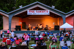 Free Concerts at Glen Miller Park (WayNet.org) Tags: summer concert chair seasons unitedstates stage hill crowd lawn indiana places things richmond beatles bandshell pavillion locations coverband waynecounty glenmillerpark waynet parksrec sweetbeats roosevelthill