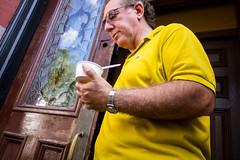 Yellow (Tom Kaszuba) Tags: boston massachusetts newburystreet beaconhill fromthehip
