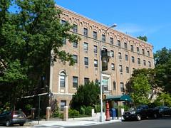 Former St. Elizabeth's Hospital, Washington Heights (JeffReuben) Tags: nyc newyorkcity ny newyork brick manhattan washingtonheights frenchgothic wahi adaptivereuse hudsonheights formerhospital 689fortwashington 689ftwashingtonave hospitalofstelizabethofhungary 689fortwashingtonavenue