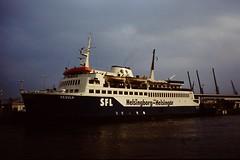 COPENHAGEN 1982 pic05 (streamer020nl) Tags: ferry denmark 1982 gulf sweden harbour sverige danmark helsingor regula helsingborg sfl helsingr up8729