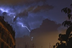 lightning (AndBiancafarina) Tags: italy storm rome roma rain italia thunderstorm lightning pioggia temporale fulmine cieloromano