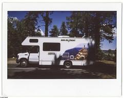 . (JHamel) Tags: summer arizona film fuji grandcanyon roadtrip northrim instantfilm 2013 instax210 justinhamelphotography grandcanyonstateofmind
