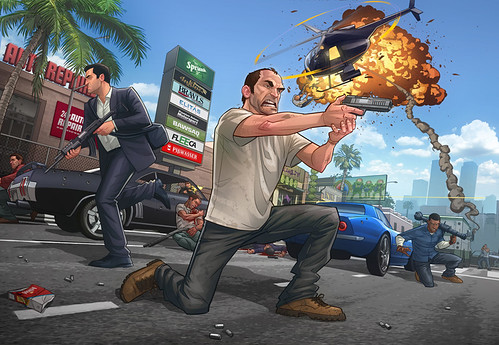 GRAND THEFT AUTO V VIDEO REVIEW