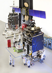 1st Boeing-built Inmarsat-5 Satellite on Track for 2013 Launch (The Boeing Company) Tags: space satellite security boeing defense inmarsat 702hp