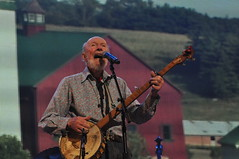Pete Seeger Farm Aid 2013 (SharonOnTheMove) Tags: charity new york music dave john lights concert 21 farm stage saratoga young neil nelson september event aid springs artists pete benefit willie matthews seeger mellencamp 2013 farmaid2013