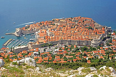 Croatia-01776 - Old Town from the Top