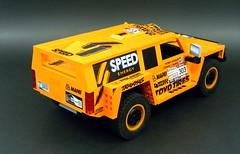 02 (LegoMarat) Tags: lego rally technic dakar raid hummer pf modelteam moc powerfunctions