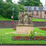 The Three Graces at Ness Bank in Inverness Scotland. thumbnail