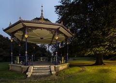 The Bandstand. Lewisvale Park, Musselburgh. (BusterBB001) Tags: iron open columns band castiron buster ornate bandstand ornamental railings kirkintilloch musselburgh octagonal circa1900 pedestals lionfoundry