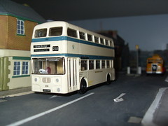 West Bromwich Fleetline 104 KEA 104E (Bandsman1) Tags: bus model efe daimler leyland fleetline diecast repaint code3 atlantean oogauge westbromwichcorporation 176scale counbourne