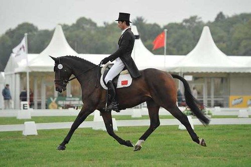 Alex and Temujin 9th at Osberton CCI* 2013
