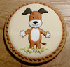 Kipper Dog Cookies (Honeycat Cookies) Tags: party dog cookies royal icing kipper favours royalicing