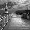 I Know You Are Here (sebistaen) Tags: sky cloud blackwhite flickr gibraltar sebistaen