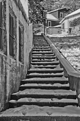 Bisbee Stairs (lindyannajones) Tags: arizona snow stair bisbee